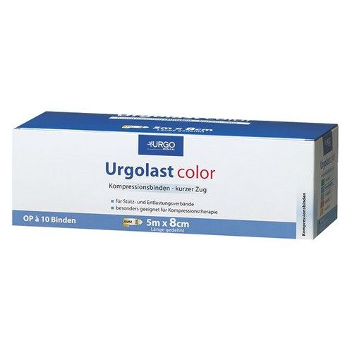 URGOLAST Color Binde 8 cmx5 m rot